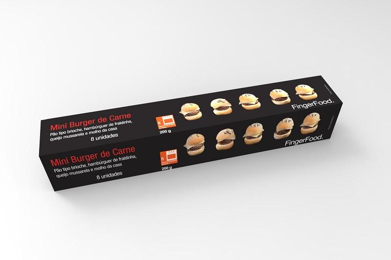 burger de fraldinha 8 unidades